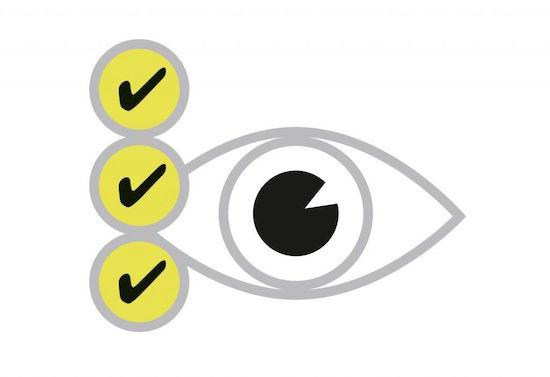 """Im Dialog werden die Sehgewohnheiten und individuellen Anforderungen an das Sehen analysiert und festgelegt. Der Kunde beschäftigt sich mit der Frage """"Was soll meine neue Brille alles bieten?"""""""